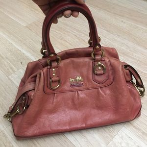 Coach Salmon Vintage purse